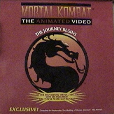 mortal kombat the journey begins vhs